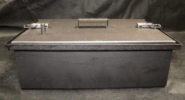 Коптильня с гидрозатвором 1 ярус 500х350х150мм